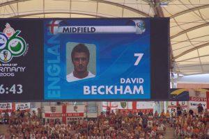 David Beckam.