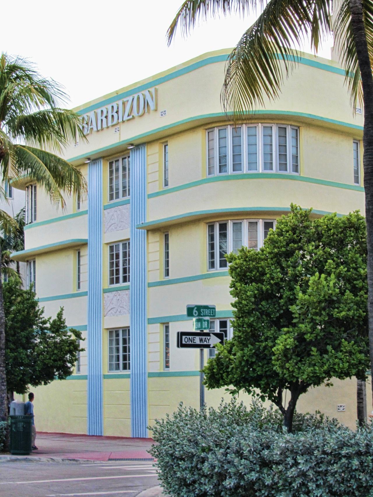 Miami Beach - Immeuble Art Déco
