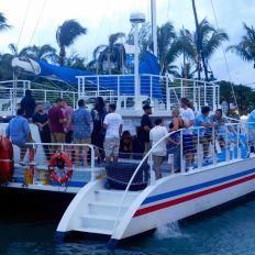 Coucher de soleil à Key West avec les bateaux de Fury Waters.