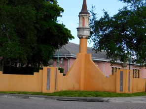 Architecture arabisante hollywoodienne à Opa Locka (Miami)