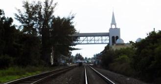 Architecture arabisante hollywoodienne : gare de Opa Locka (Miami)