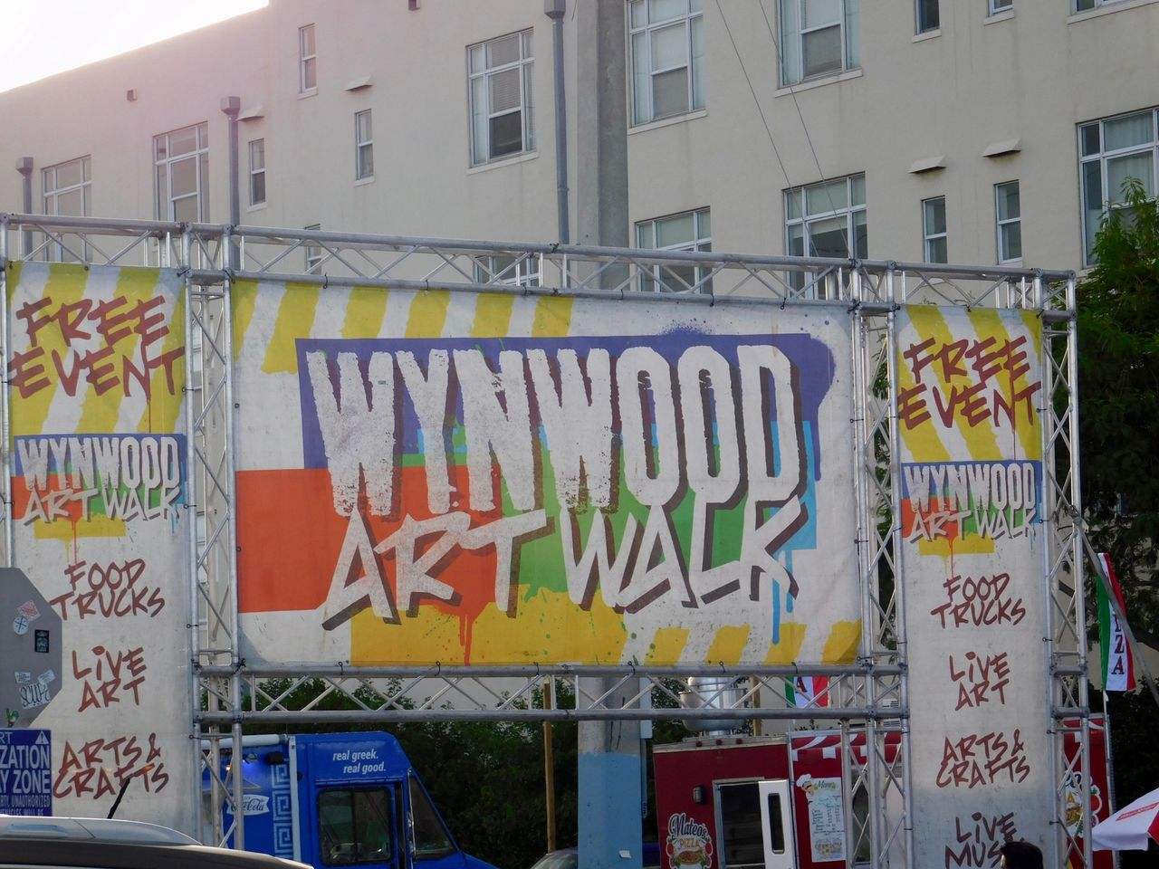 Wynwood Art Walk au Wynwood Art District de Miami.