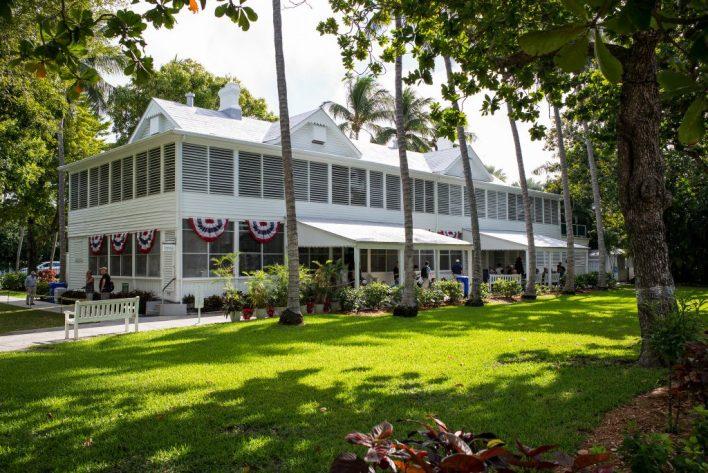 """La """"Little White House"""" d'hiver du président Harry Truman à Key West"""