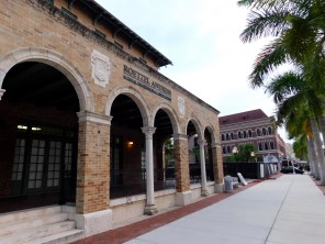 River District : le centre ville de Fort Myers (Floride))