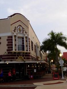 River District : le centre ville de Fort Myers (Floride))