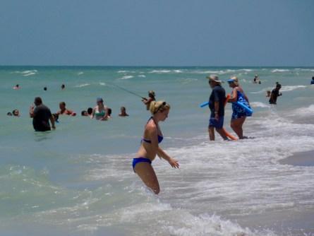 Plage de Bowman's Beach sur l'île de Sanibel (Floride)Plage de Bowman's Beach sur l'île de Sanibel (Floride)