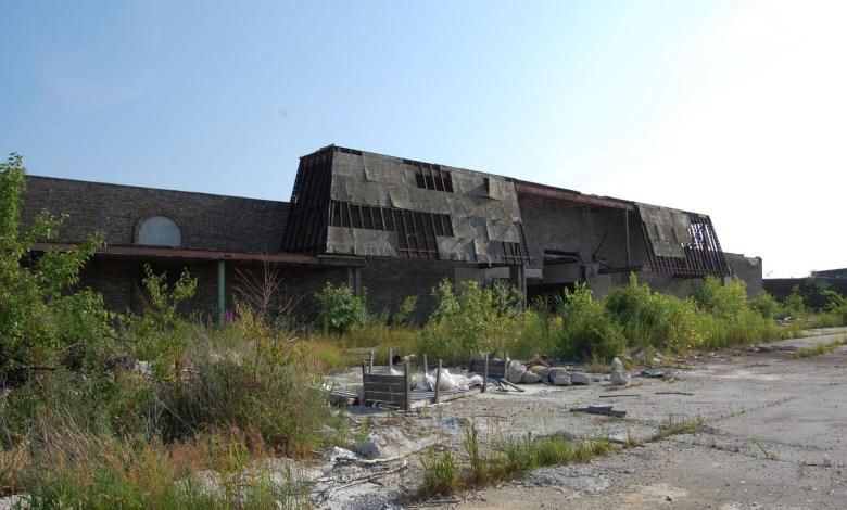 Ruine du Dixie Square Mall, dans l'Illinois