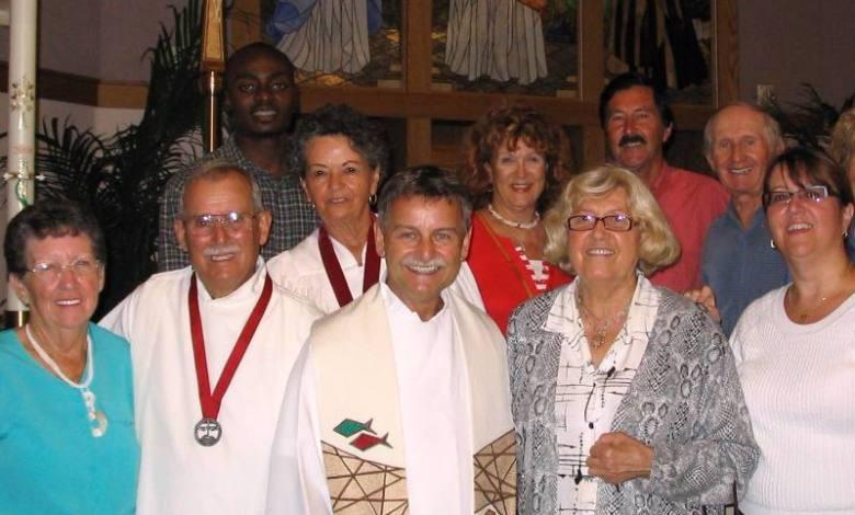 Jean-Pierre Guay et la chorale Petite Fleur à Hollywood en Floride