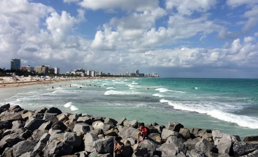 Plage de Miami Beach
