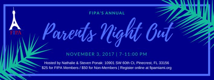 Soirée Wine & Cheese 2017 de l'association FIPA à Miami