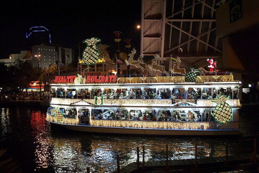 Seminole Hard Rock Winterfest Boat Parade