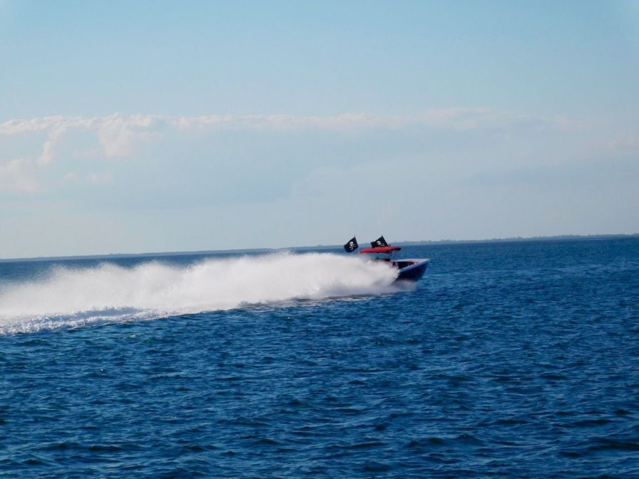 Speed Boat au Biscayne National Park