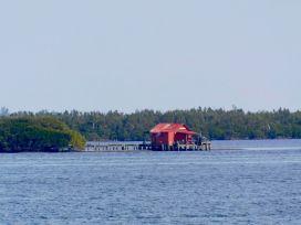 Maisons de pêcheurs sur pilotis non loin de Cabbage Key.