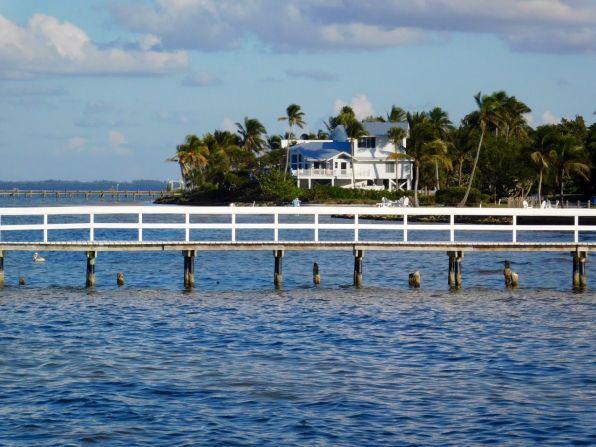 Bokeelia, village de pêcheurs et de cottages sur l'île de Pine Island, près de Fort Myers en Floride
