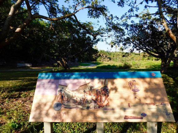 Site des Indians Mounds (indiens calusas) à Pineland, sur l'île de Pine Island (près de Fort Myers en Floride)