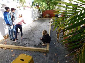 Un terrain de pétanque à Fort Lauderdale
