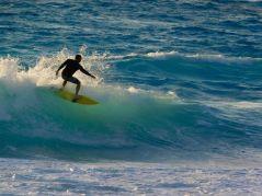 Surf sur la Plage de Cancun Mexique