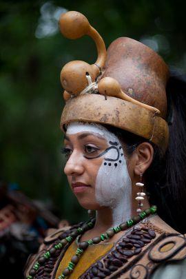 Mayas au X-caret Park (Crédit photo : Jimmy Baikovicius/ CC BY-SA 2.0)