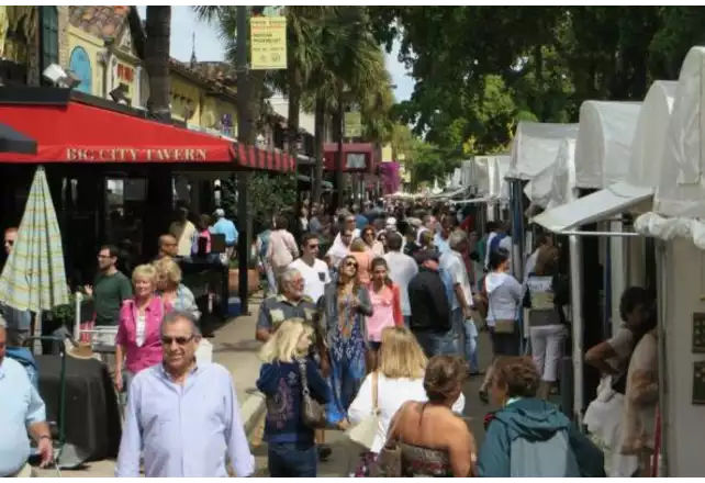 Las Olas Art Fair à Fort Lauderdale
