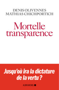 Livre Mortelles Transparences
