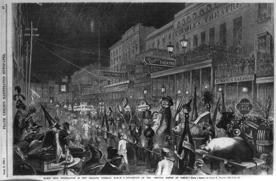 Mardi Gras à la Nouvelle Orléans