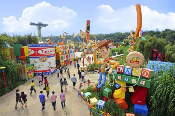 Toy Story Land à Disney World Orlando