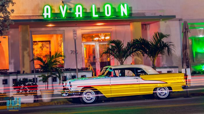 Avalon Hotel, sur Ocean Drive à South Beach / Miami Beach