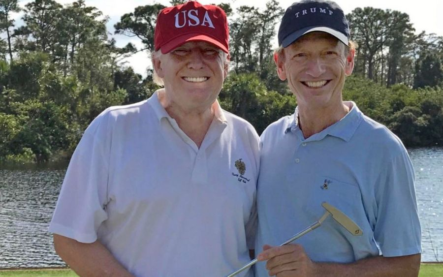 Les clubs de golf de Donald Club sont bretons
