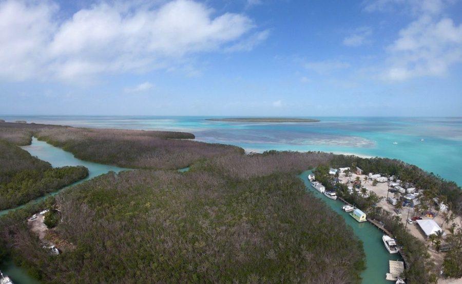 L'île d'Islamorada dans l'archipel des Keys de Floride