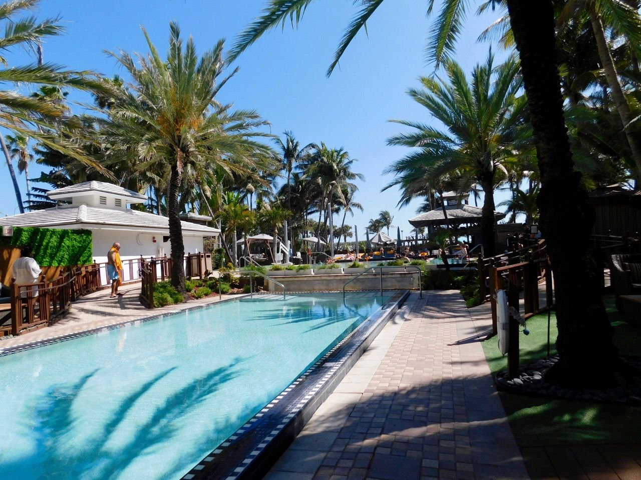 National Hotel, hôtel art déco sur Ocean Drive à South Beach / Miami Beach