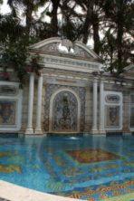 "La piscine ""en or"" de la Casa Casuarina villa de Gianni Versace) sur Ocean Drive à South Beach / Miami Beach"