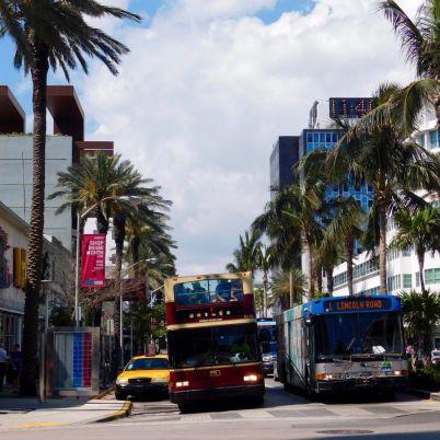 Lincoln Road à Miami Beach.