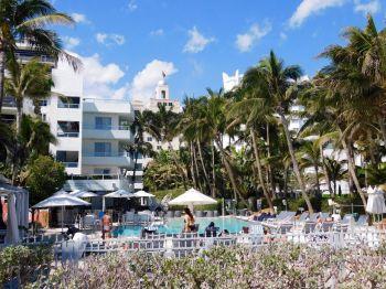 Sagamore Hotel, hôtel art déco sur Ocean Drive à South Beach / Miami Beach