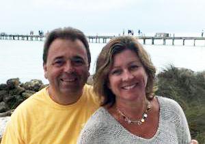 Willy et Elizabeth Le Bihan fondateurs de l' Ecole française de la Tampa Bay, à St Petersburg en Floride