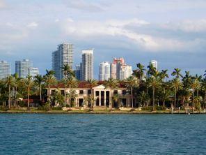 Star Island / Miami Beach, au coucher du soleil