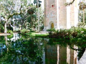 La Bok Tower et ses jardins, à Lake Wales (au sud d'Orlando)