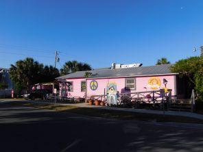 Holey Moley, sur l'Île de Cedar Key, en Floride.