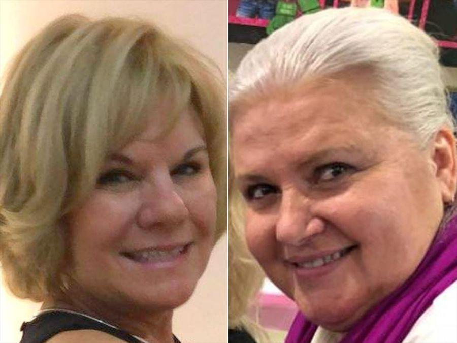 Pamela Hutchinson (à gauche) et Lois Ann Riess.