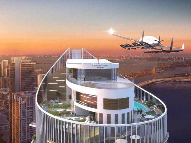 Voiture volante à Miami