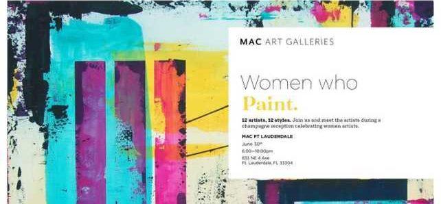 Expo Women Who Paint à Fort Lauderdale