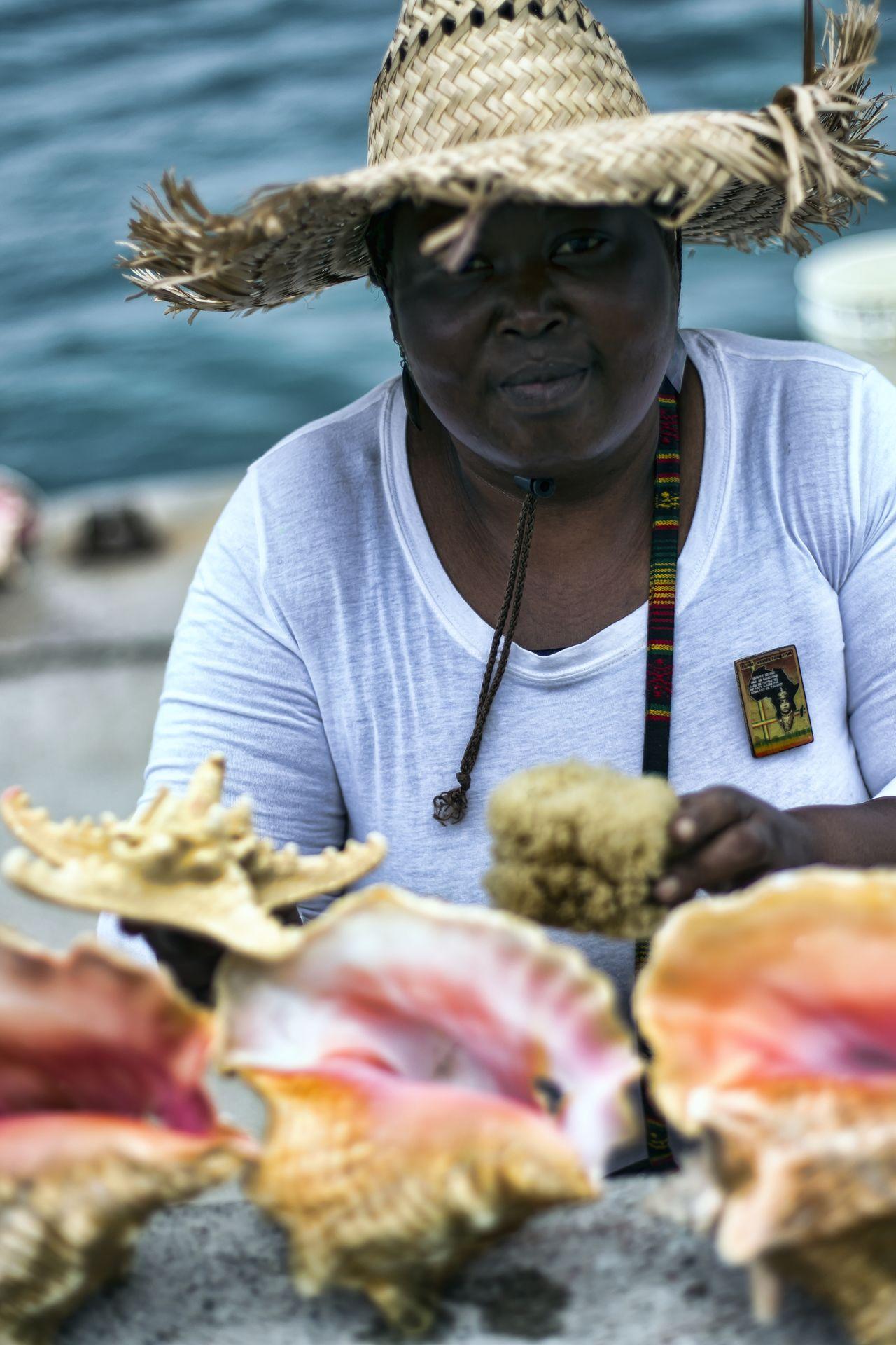 Bahamas - Pécheur de Conch