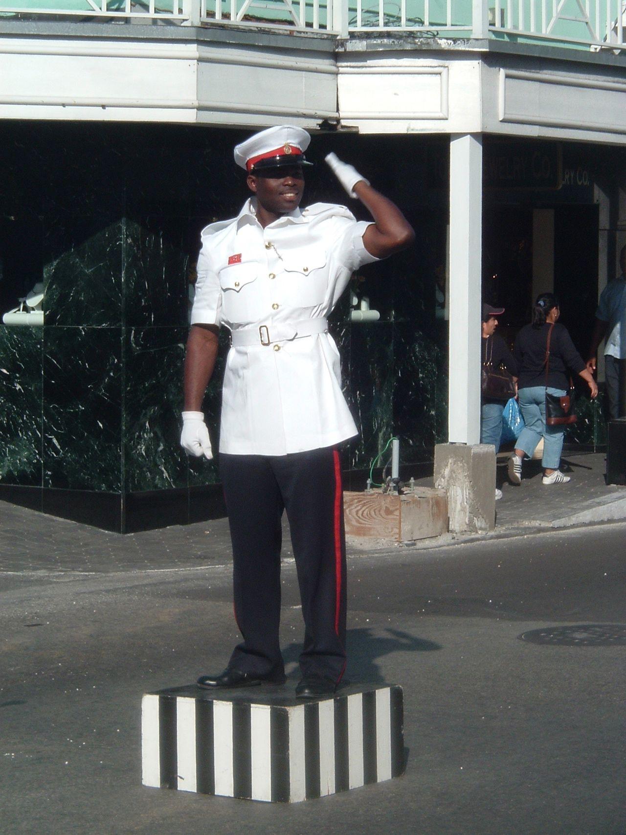 Bahamas - Policier