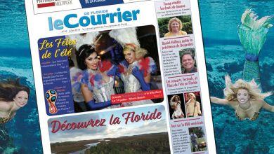 Photo of Le Courrier de Floride de Juillet 2018 est sorti !