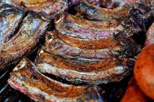 Barbecue americain ribs
