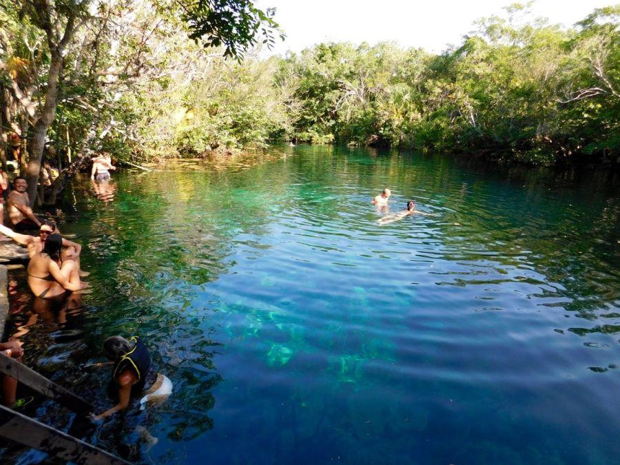 La cenote Car Wash (près de Tulum au Mexique)