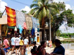 A côté de la cité maya de Cobá au Mexique.