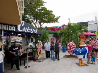 Little Havana, le quartier cubain de Miami.