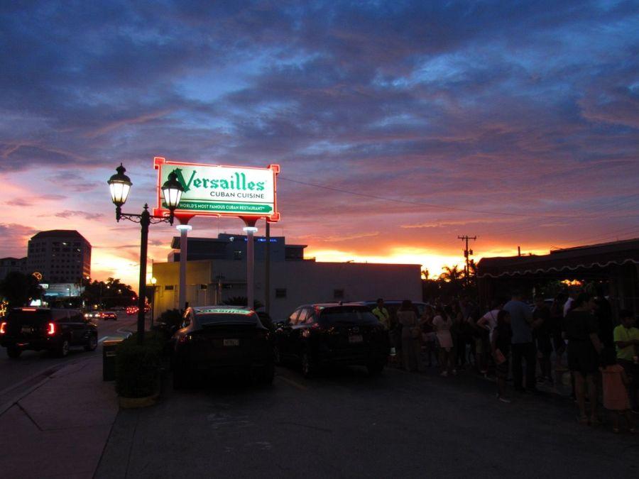 Le fameux restaurant 'Versailles' à Little Havana, le quartier cubain de Miami.