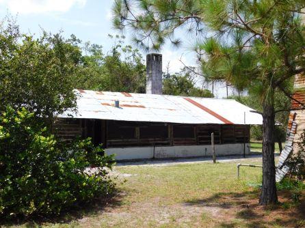 """Propriété du """"Trappeur Nelson"""" sur la Loxahatchee River (Floride)"""