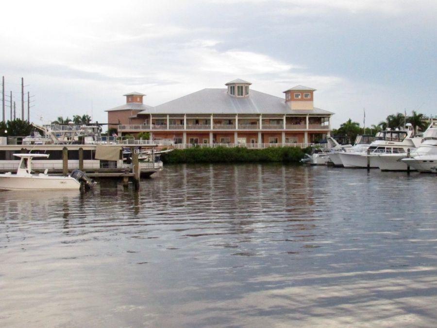 Marina sur le Port de Punta Gorda, en Floride